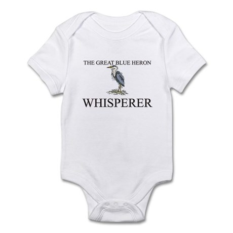 The Great Blue Heron Whisperer Infant Bodysuit