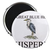 The Great Blue Heron Whisperer Magnet