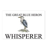 The Great Blue Heron Whisperer Postcards (Package