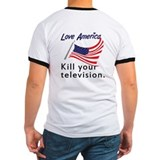 logo / Kill your television. (ring)