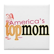 Top Mom Tile Coaster