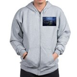Starry Night Over the Rhone Zip Hoodie