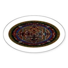 Kalachakra Oval Decal