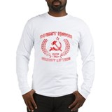 Vintage Soviet Weightlifting Long Sleeve T-Shirt