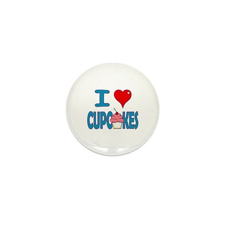 I love Cupcakes! Mini Button (10 pack)