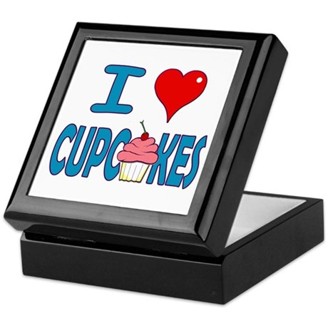 I love Cupcakes! Keepsake Box