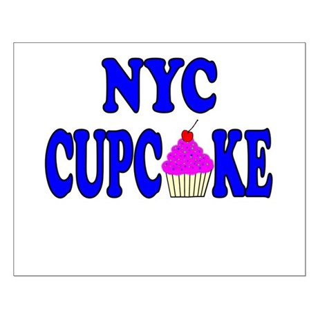 NYC Cupcake! Small Poster