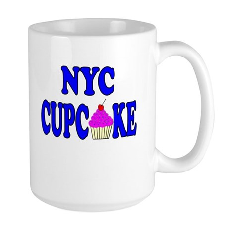 NYC Cupcake! Large Mug