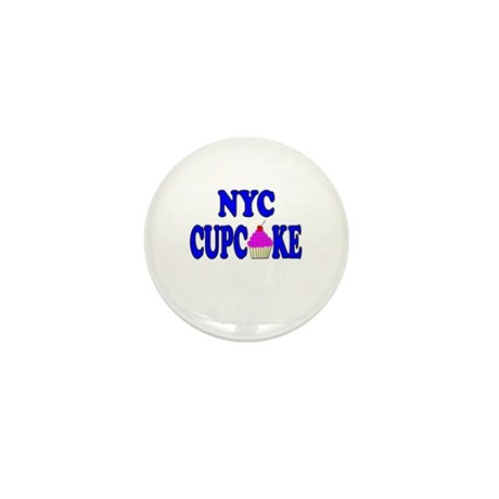 NYC Cupcake! Mini Button