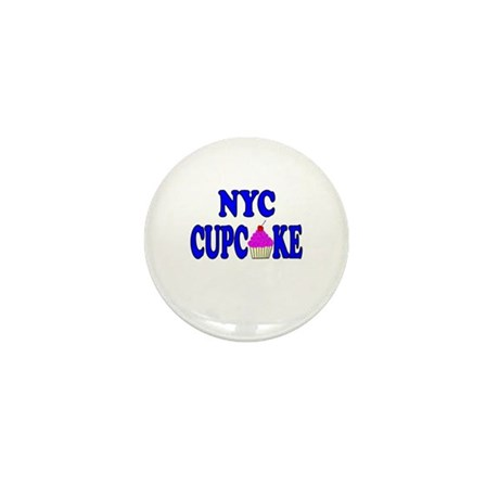 NYC Cupcake! Mini Button (10 pack)