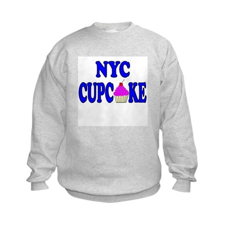 NYC Cupcake! Kids Sweatshirt