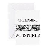 The Ermine Whisperer Greeting Cards (Pk of 10)