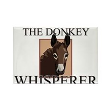 The Donkey Whisperer Rectangle Magnet (10 pack)