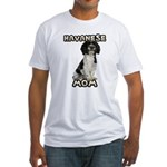 Havanese Mom Fitted T-Shirt