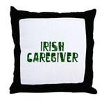 Irish Caregiver Throw Pillow