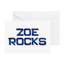 zoe rocks Greeting Card
