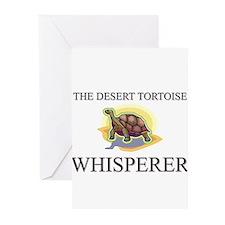 The Desert Tortoise Whisperer Greeting Cards (Pk o