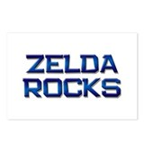 zelda rocks Postcards (Package of 8)