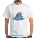 Happy Dolphin White T-Shirt
