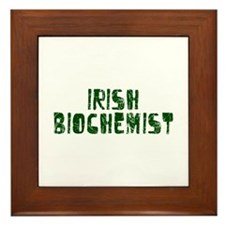 Irish Biochemist Framed Tile