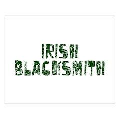 Irish Blacksmith Small Poster