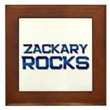 zackary rocks Framed Tile