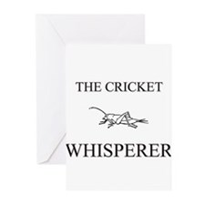 The Cricket Whisperer Greeting Cards (Pk of 10)