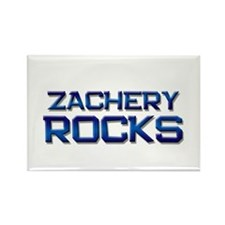 zachery rocks Rectangle Magnet (10 pack)