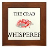 The Crab Whisperer Framed Tile