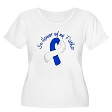 Honor Blue and White Father T-Shirt