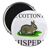 "The Cottontail Whisperer 2.25"" Magnet (10 pack)"