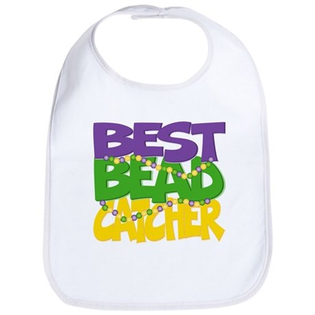 Mardi Gras Best Bead Catcher Bib
