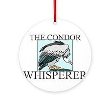 The Condor Whisperer Ornament (Round)