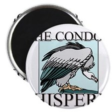 "The Condor Whisperer 2.25"" Magnet (10 pack)"