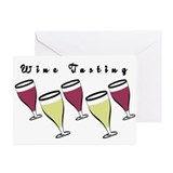 Wine Tasting Greeting Cards (Pk of 20)