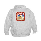 9th Birthday Monkey Hoodie