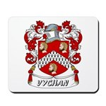Vychan Coat of Arms Mousepad