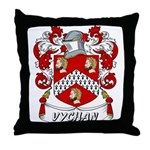 Vychan Coat of Arms Throw Pillow