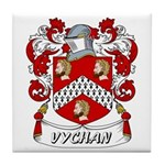 Vychan Coat of Arms Tile Coaster