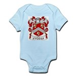 Vychan Coat of Arms Infant Creeper