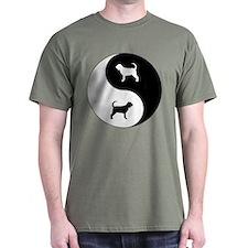 Yin Yang Bloodhound T-Shirt