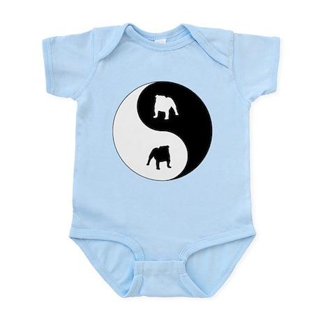 Yin Yang Bulldog Infant Bodysuit