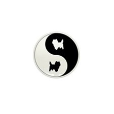 Yin Yang Cairn Mini Button (10 pack)