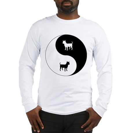 Yin Yang Chihuahua Long Sleeve T-Shirt