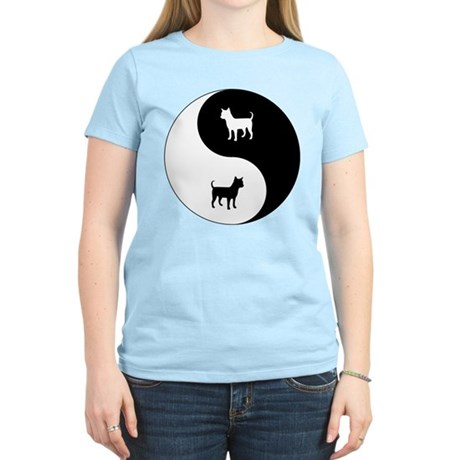 Yin Yang Chihuahua Women's Light T-Shirt