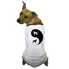 Yin Yang Curly Dog T-Shirt