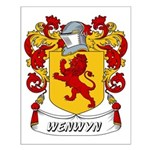 Wenwyn Coat of Arms Small Poster