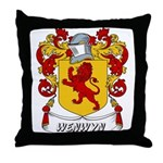 Wenwyn Coat of Arms Throw Pillow