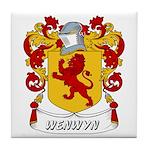 Wenwyn Coat of Arms Tile Coaster