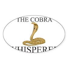 The Cobra Whisperer Oval Decal